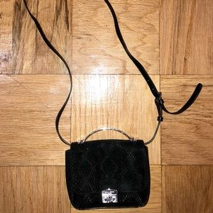 Henri Bendel Snakeskin Crossbody Bag